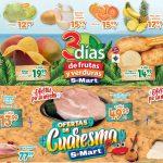 Folleto S-Mart frutas y verduras del 16 al 18 de marzo 2021