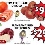 Ofertas Soriana Mercado en frutas y verduras 23 al 25 de marzo 2021