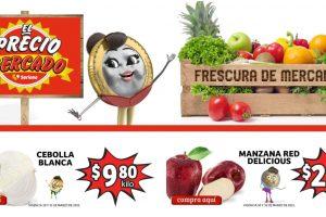 Frutas y Verduras Soriana Mercado del 30 al 31 de marzo 2021