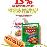 Promoción Soriana: 15% de descuento en jamones, salchichas y quesos a granel