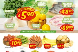 Ofertas Mi Tienda del Ahorro frutas y verduras del 30 de marzo al 1 de abril