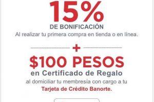 Banorte: 30 días de membresía gratis + $100 en certificado en Cotsco