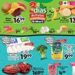 Folleto SMart frutas y verduras del 20 al 22 de abril 2021