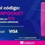 Liverpool: Cupón 5% de descuento en toda la tienda pagando con VISA