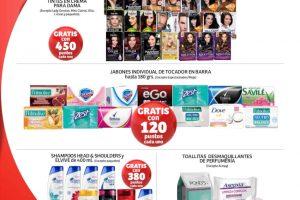 Folleto Soriana puntos Recompensas productos Gratis al 30 de abril 2021