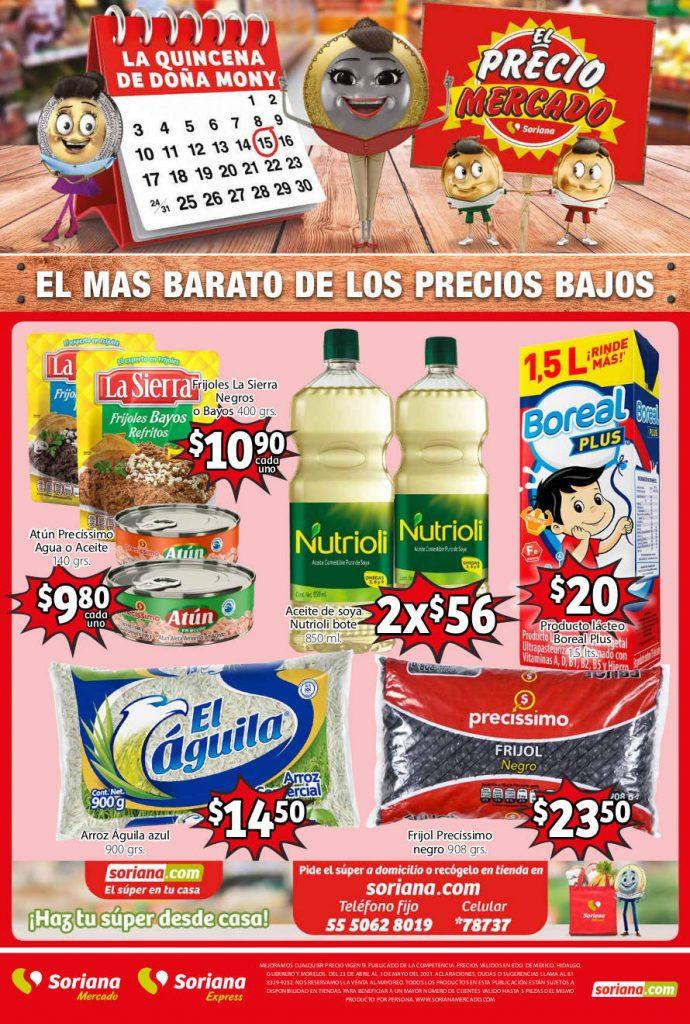 Folleto Soriana Mercado del 23 de abril al 3 de mayo 2021