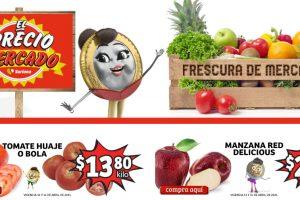 Folleto Soriana Mercado frutas y verduras del 13 al 15 de abril 2021