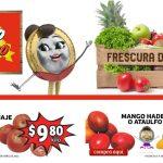 Ofertas Soriana Mercado frutas y verduras 27 al 29 de abril 2021