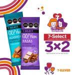 Promoción 7-Eleven Día de las Madres 2021: 3×2 en chocolates
