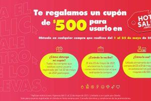 Soriana Hot Sale 2021: Cupón $500 de descuento