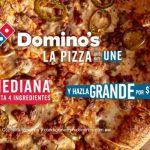 Promoción Dominós Pizza Día de las Madres 2021 Pizza Mediana a $99
