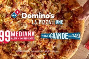 Promoción Dominós Pizza Día de las Madres 2021: Pizza Mediana a $99
