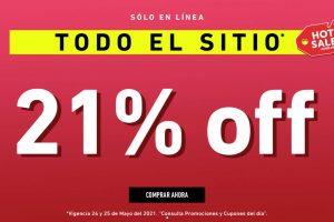 Promoción Forever 21 Hot Sale 2021: 21% de descuento adicional