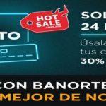 Promociones Banorte Hot Sale 2021 30% de bonificación