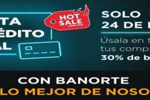 Promociones Banorte Hot Sale 2021: 30% de bonificación