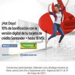 Santander Hot Sale 2021
