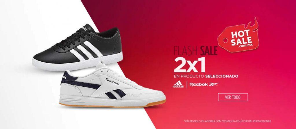 Ofertas Andrea Hot Sale 2021: 2×1 en tenis y 3x2 en ropa