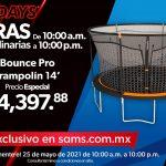 Sams Club: Hot Sale Horas Extraordinarias 25 de mayo 2021