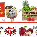 Folleto Soriana Mercado Ofertas frutas y verduras 1 al 3 de junio 2021