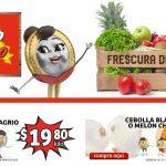 Folleto Soriana Mercado frutas y verduras 11 al 13 de mayo 2021