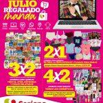 Folleto Soriana Julio Regalado del 25 de junio al 1 de julio 2021