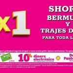 Julio Regalado 2021: 2×1 en shorts, bermudas y trajes de baño