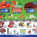 Ofertas SMart frutas y verduras del 29 de junio al 1 de julio 2021