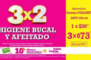 Julio Regalado 2021 Soriana: 3×2 en higiene bucal y afeitado