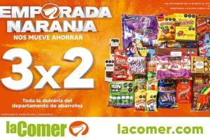 Folleto La Comer Temporada Naranja 2021 del 1 al 10 de junio