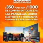 Temporada Naranja 2021: $350 de descuento en pantallas, audio, electrónica y fotografía