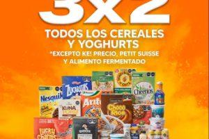 La Comer Temporada Naranja 2021: 3×2 en cereales y yoghurts