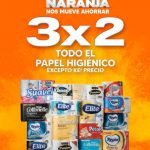 Temporada Naranja 2021: 3×2 en papel higiénico