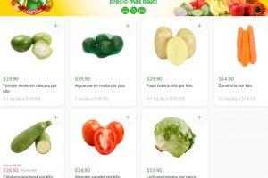 Folleto Tianguis Bodega Aurrerá frutas y verduras 25 de junio al 1 de julio 2021