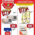 Folleto Bodega Aurrera Canasta de ofertas del 14 al 28 de julio 2021