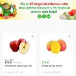 Ofertas Tianguis Bodega Aurrerá frutas y verduras del 5 al 8 de julio 2021