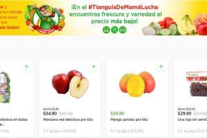 Folleto Tianguis Bodega Aurrerá frutas y verduras del 5 al 8 de julio 2021