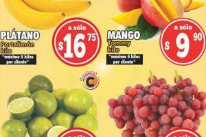 Ofertas Casa Ley frutas y verduras 13 y 14 de julio 2021