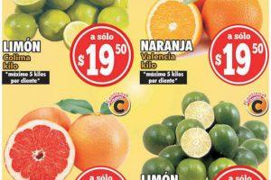 Ofertas Casa Ley frutas y verduras 20 y 21 de julio 2021