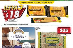 Folleto Bodega Aurrerá Bodegazos 14 al 28 de julio 2021