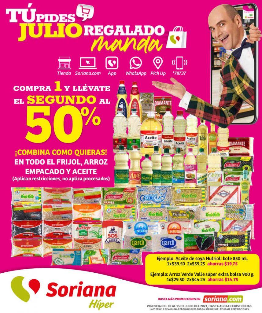 Folleto Soriana Julio Regalado 2021 del 9 al 15 de julio
