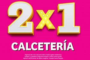 Julio Regalado 2021 Soriana: 2×1 en toda la calcetería