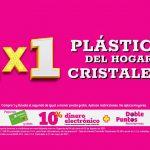 Julio Regalado 2021: 2×1 en plásticos del hogar y cristalería