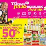 Julio Regalado 2021: Frijol, arroz y aceite segundo al 50% de descuento