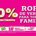 Julio Regalado 2021: 30% de descuento en ropa de verano
