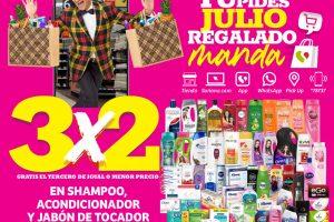 Julio Regalado 2021: 3×2 en shampoos, acondicionadores y jabones de tocador