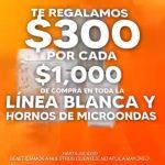 Temporada Naranja 2021: $300 de descuento en línea blanca y hornos de microondas