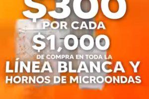 La Comer Temporada Naranja 2021: $300 de descuento en línea blanca y hornos de microondas