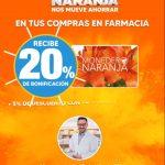 Temporada Naranja 2021: 20% de bonificación en farmacia
