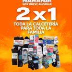 La Comer Temporada Naranja 2021: 2×1 en calcetería para toda la familia