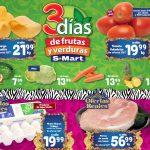 Ofertas SMart frutas y verduras del 6 al 8 de julio 2021